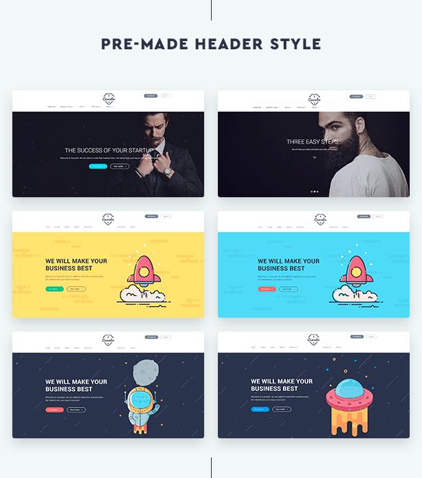 Cascadia - Agency/Personal Portfolio HTML5 Template - 3