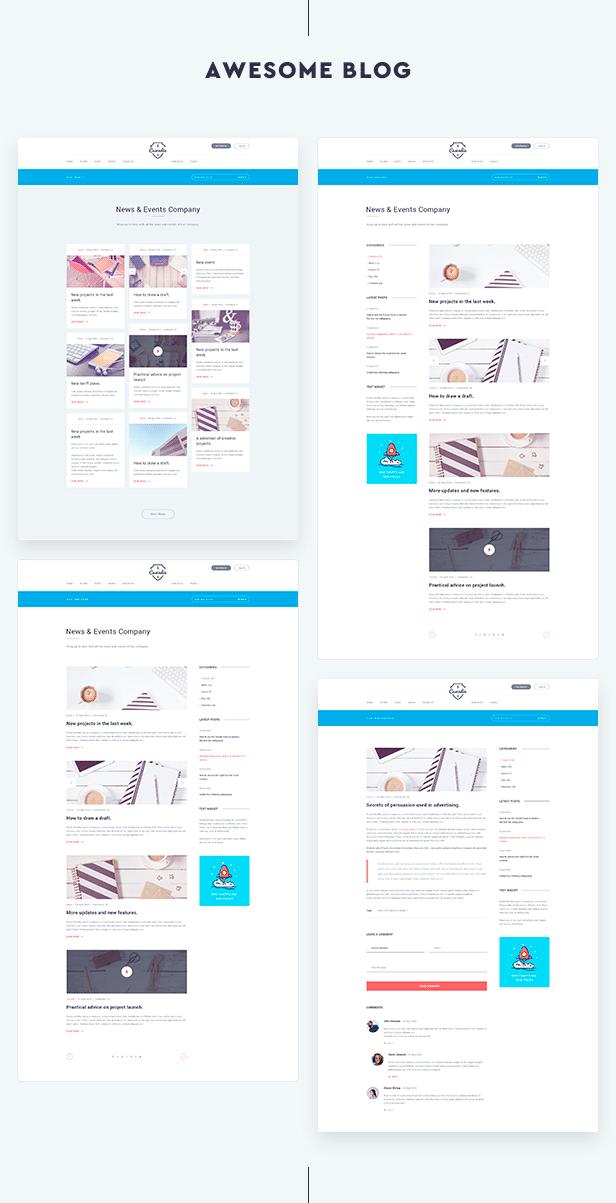 Cascadia - Agency/Personal Portfolio HTML5 Template - 5