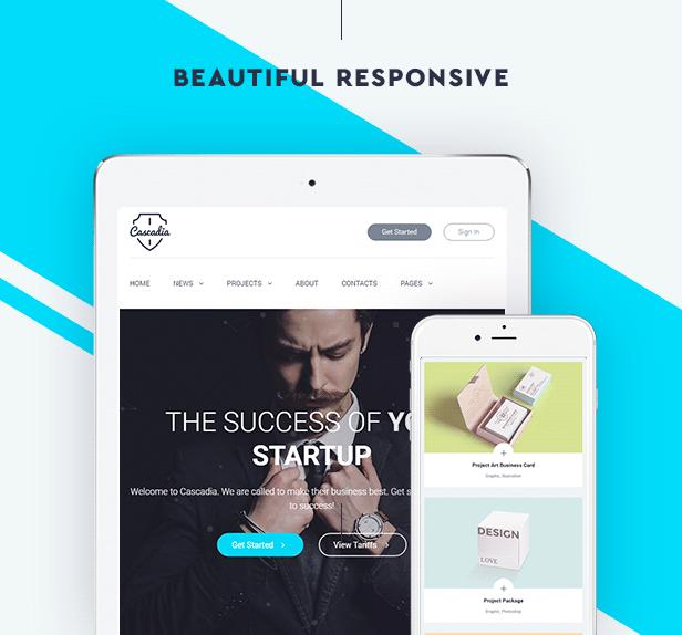 Cascadia - Agency/Personal Portfolio HTML5 Template - 7