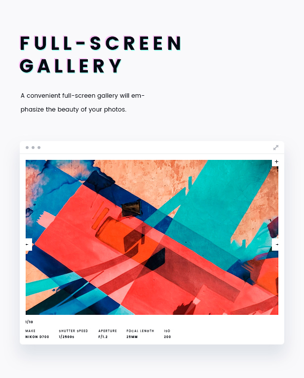 FORZO – Creative Photography & Portfolio HTML5 Template - 5