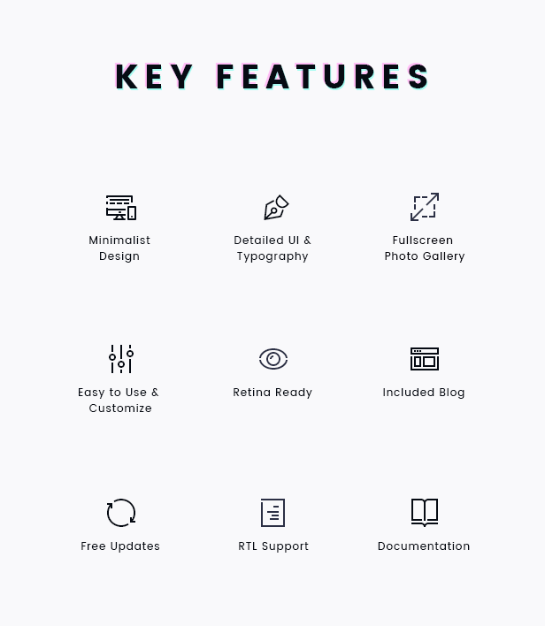 FORZO – Creative Photography & Portfolio HTML5 Template - 7