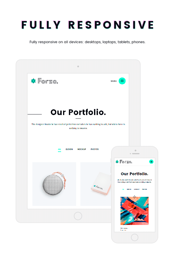 FORZO – Creative Photography & Portfolio HTML5 Template - 6