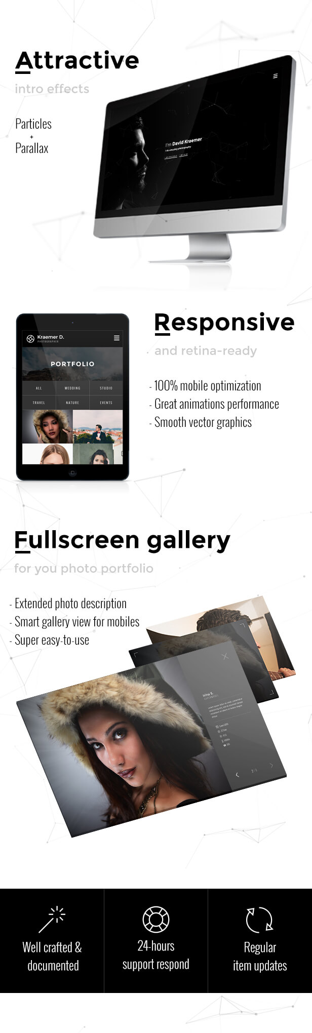 Shuttea — Portfolio & Blog WordPress Theme for Photographers - 1